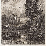 For the stream. 1873 17, 7h13, 4, Ivan Ivanovich Shishkin