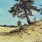 pine on the sand 1884 69 5h105, Ivan Ivanovich Shishkin