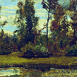 Ivan Ivanovich Shishkin - Lake in the woods 20h52