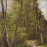 Ivan Ivanovich Shishkin - path in the woods 1886
