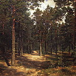 Track among the pines. 1883 96h143, Ivan Ivanovich Shishkin