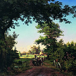 Ivan Ivanovich Shishkin - Type in the vicinity of St. Petersburg 1865 66. 5h96