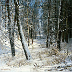 Ivan Ivanovich Shishkin - Winter in the forest, frost 1877 40, 8h25, 3