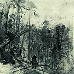 Ivan Ivanovich Shishkin - Morning in a pine forest. End of 1880 23, 2h33, 5