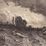 Ivan Ivanovich Shishkin - summer in the field (shepherd with a herd). The first half of 1860 28, 4h42, 9