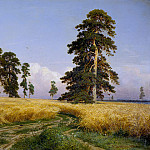 900 Classic russian paintings - Rye