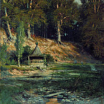 Chapel in the woods 1883 50h59, Ivan Ivanovich Shishkin