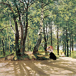 Ivan Ivanovich Shishkin - In the country (about giving). 1894, 73 5h105, 5
