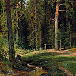 Edge of the Forest 1884 71. 5h57. 5, Ivan Ivanovich Shishkin