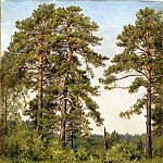 Edge of pine forest, Ivan Ivanovich Shishkin