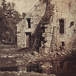 old house on the pond 1860 33h26, 5, Ivan Ivanovich Shishkin