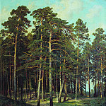 Bridge in the woods 1895 108h81, Ivan Ivanovich Shishkin