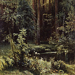 Ivan Ivanovich Shishkin - Landscape with forest lake. 1889 100 1973 5