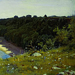 By the sea. Etude 1889 36. 6h66, Ivan Ivanovich Shishkin