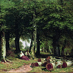 Ivan Ivanovich Shishkin - In the Grove 1869 35. 5h53. 5