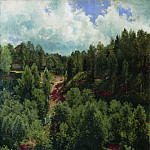 After a rain. Etude forests 103h68 1881, Ivan Ivanovich Shishkin