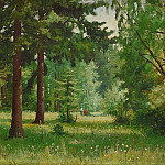 Children in the woods, Ivan Ivanovich Shishkin