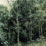 Ivan Ivanovich Shishkin - Flowers in the Forest 1877 28, 4h21, 3
