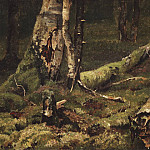 Deadwood. Bialowieza Forest. 1892 28, 4h43, 4, Ivan Ivanovich Shishkin