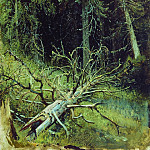 Ivan Ivanovich Shishkin - In the fir forest 1870 34h27