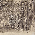 Alley in the old park. 1885 23, 5h31, Ivan Ivanovich Shishkin