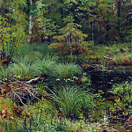 Spring in the woods 1892 38h56, Ivan Ivanovich Shishkin
