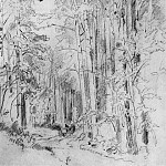 Aspen on the way to Kivach 1889 48h32, Ivan Ivanovich Shishkin