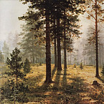 Fog in the forest. 1890 27h34, Ivan Ivanovich Shishkin