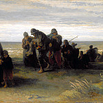 Jozef Israels – Fishermen carrying a Drowned Man, Part 4 National Gallery UK