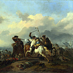 Part 4 National Gallery UK - Jan van Huchtenburgh - A Battle