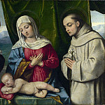 Italian, North – The Madonna and Child with Saints, Part 4 National Gallery UK