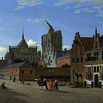 Part 4 National Gallery UK - Jan van der Heyden - A View in Cologne