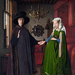 The Arnolfini Portrait, Jan van Eyck