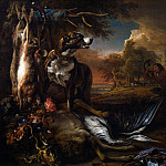 Part 4 National Gallery UK - Jan Weenix - A Deerhound with Dead Game and Implements of the Chase