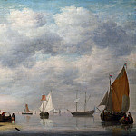 Part 4 National Gallery UK - Jan van Os - Dutch Vessels in Calm Water