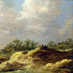 A Cottage on a Heath, Jan Van Goyen
