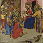 Jacopo di Cione and workshop – The Adoration of the Kings, Part 4 National Gallery UK