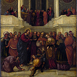 Part 4 National Gallery UK - Lodovico Mazzolino - Christ and the Woman taken in Adultery