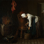 Part 4 National Gallery UK - Jean-Simeon Chardin - La Fontaine (The Water Cistern)