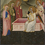 Jacopo di Cione and workshop – The Maries at the Sepulchre, Part 4 National Gallery UK