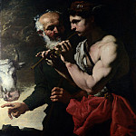 Johann Carl Loth – Mercury piping to Argus, Part 4 National Gallery UK