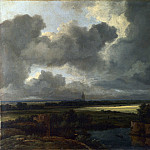 An Extensive Landscape with Ruins, Jacob Van Ruisdael