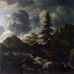 A Torrent in a Mountainous Landscape, Jacob Van Ruisdael