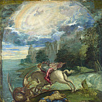 Jacopo Tintoretto – Saint George and the Dragon, Part 4 National Gallery UK