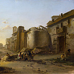 Part 4 National Gallery UK - Jan Both - A View on the Tiber