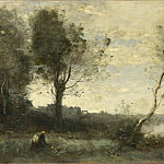 Jean-Baptiste Camille Corot – The Wood Gatherer, Part 4 National Gallery UK