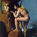 Jean-Auguste Dominique Ingres – Oedipus and the Sphinx, Part 4 National Gallery UK