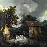 Two Watermills and an Open Sluice at Singraven, Jacob Van Ruisdael