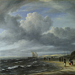 The Shore at Egmond-aan-Zee, Jacob Van Ruisdael