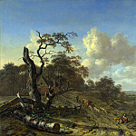 Part 4 National Gallery UK - Jan Wijnants - A Landscape with a Dead Tree